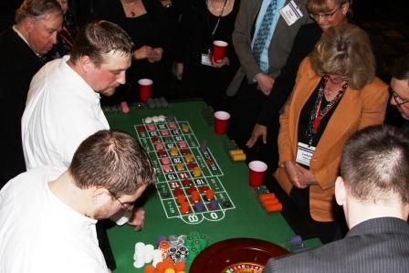 roulette and craps available for party rental
